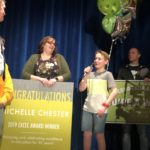 Excel awardee teacher recognized during assembly at Churchill