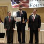 Granite Park principal receives Medal of Freedom