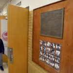 WWII plaque installed at Granite Park Junior High