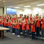 Armstrong Academy students perform at board meeting