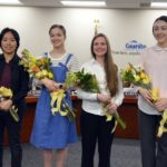 Sterling Scholar winners recognized at board meeting