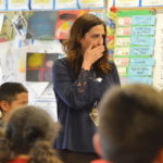 Stansbury Elementary teacher surprised with Huntsman Award