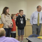 Evergreen Jr High principal surprised with Huntsman Award