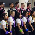 Eisenhower Jr High students perform at board meeting
