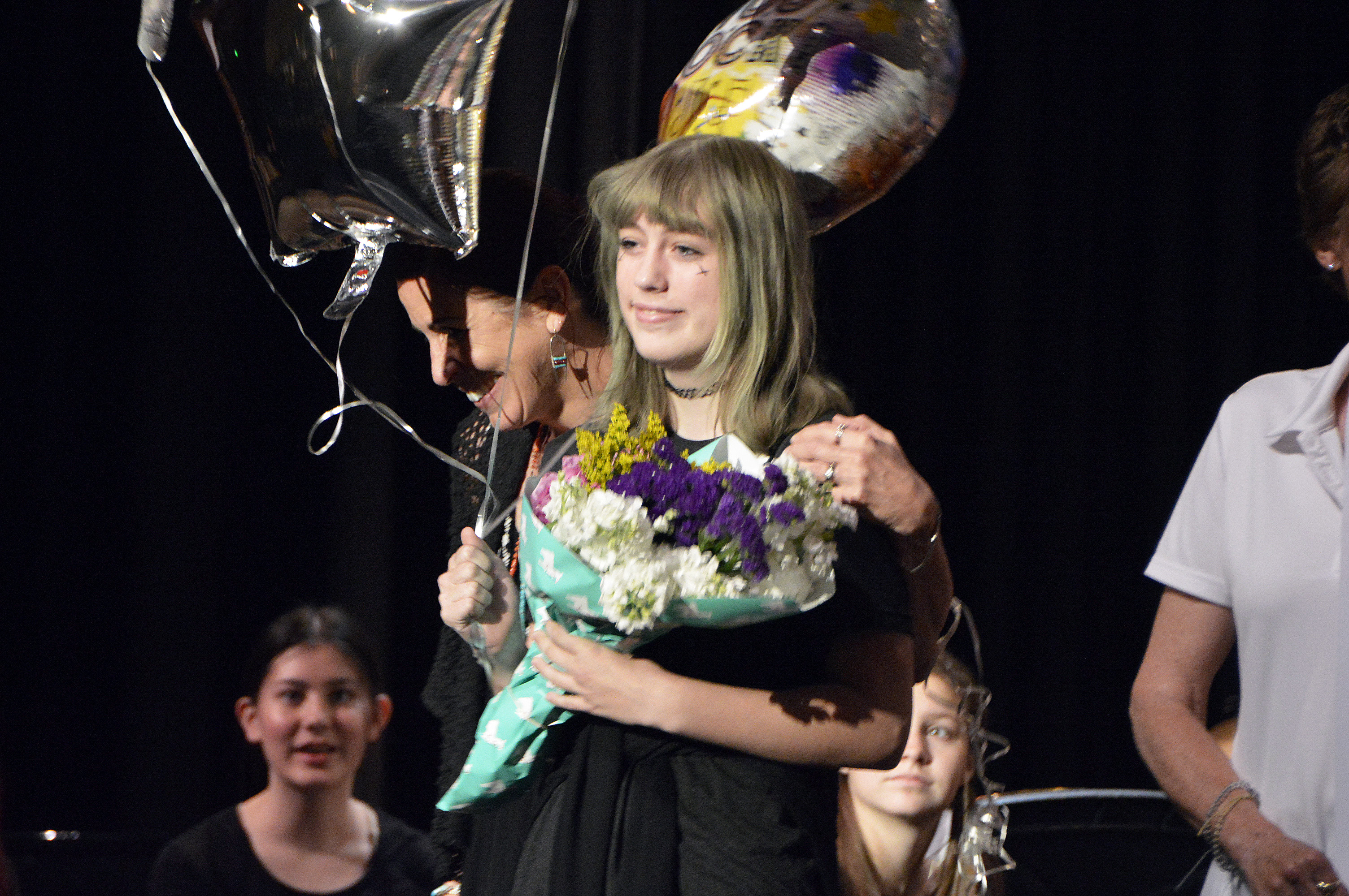 Churchill student wins PTA Reflection award during assembly