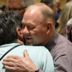 Granite retirees greet each other