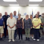 Crossing guards recognized at board meeting