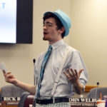 Cottonwood High student performs at board meeting