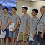 Skyline MESA team recognized at board meeting