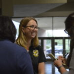 Cottonwood teacher speaks with news media