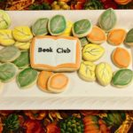 Decorative cake with title 'Book Club'