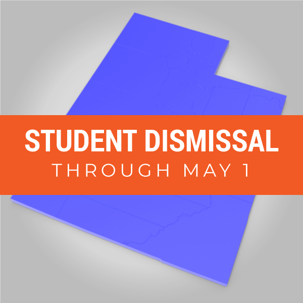 Student dismissal through May 1