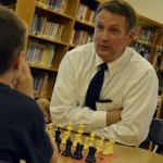 Photo of chess playing