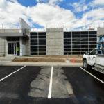 Construction site of Granite Wellness Center