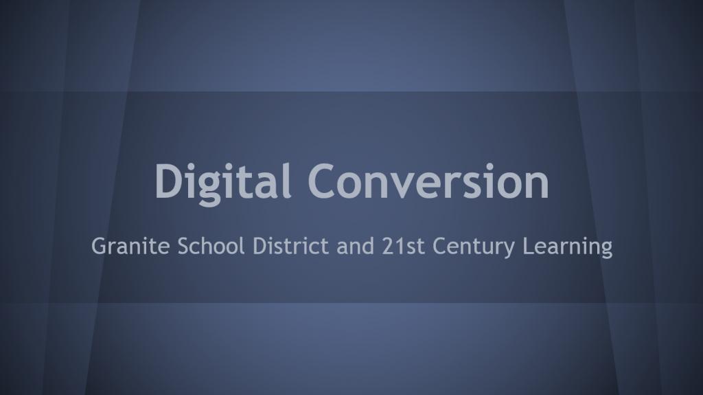 DigitalConversionPPTCover