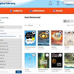 OverDrive: Granite School District's Digital Library
