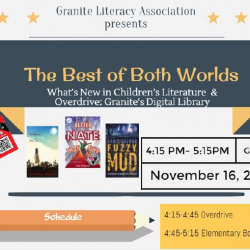 Granite Literacy Association Event: OverDrive and Children's/YA Literature