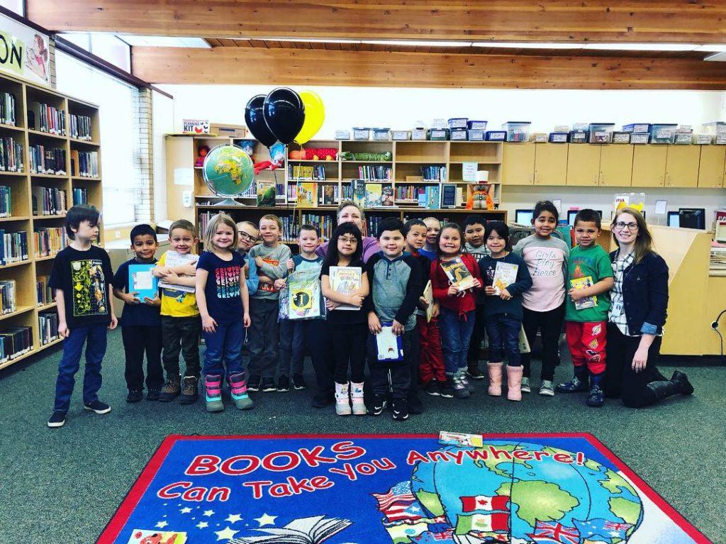 Granite Elementary Beehive Reading Challenge Winners - Academy Park Elementary