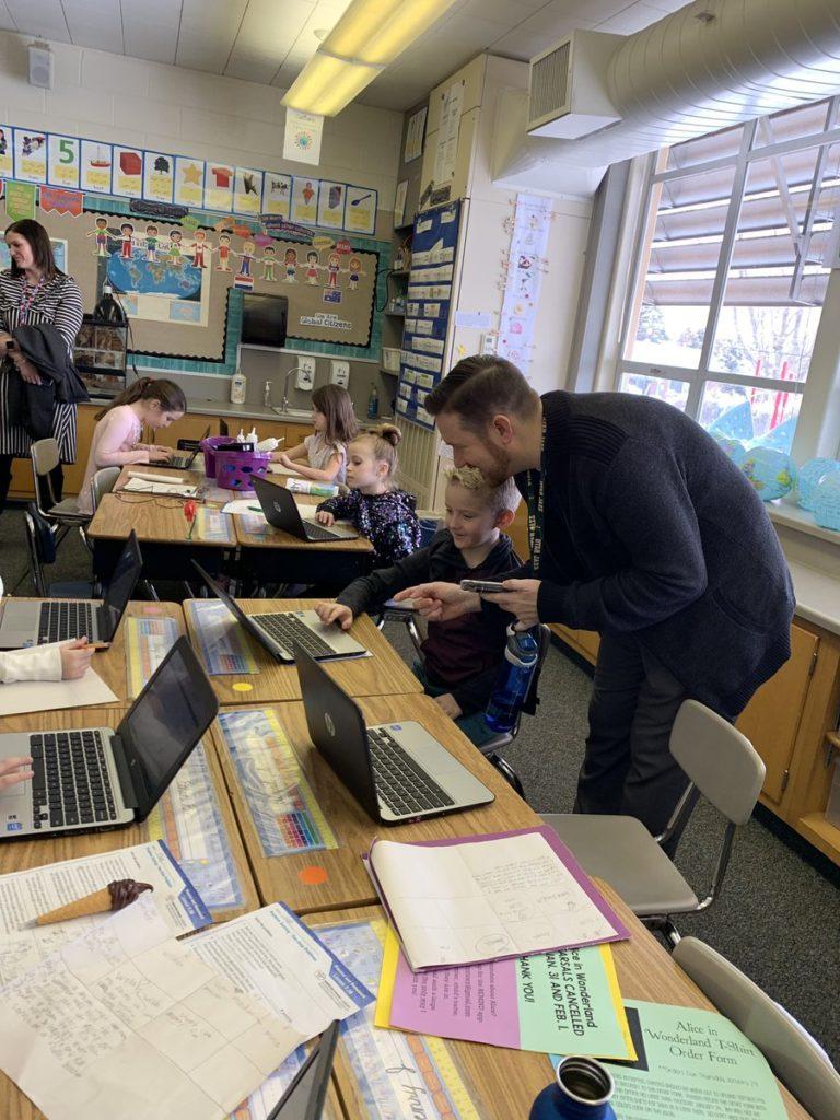 Krystal Plott Photo – Leadership in Blended Learning Site Visit at Upland Terrace Elem