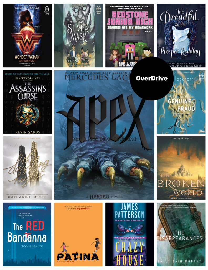 What's New in OverDrive: Young Adult Titles September 2017