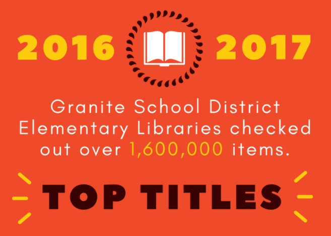 Top Circulating Library Books in Granite School District, 2016-2017