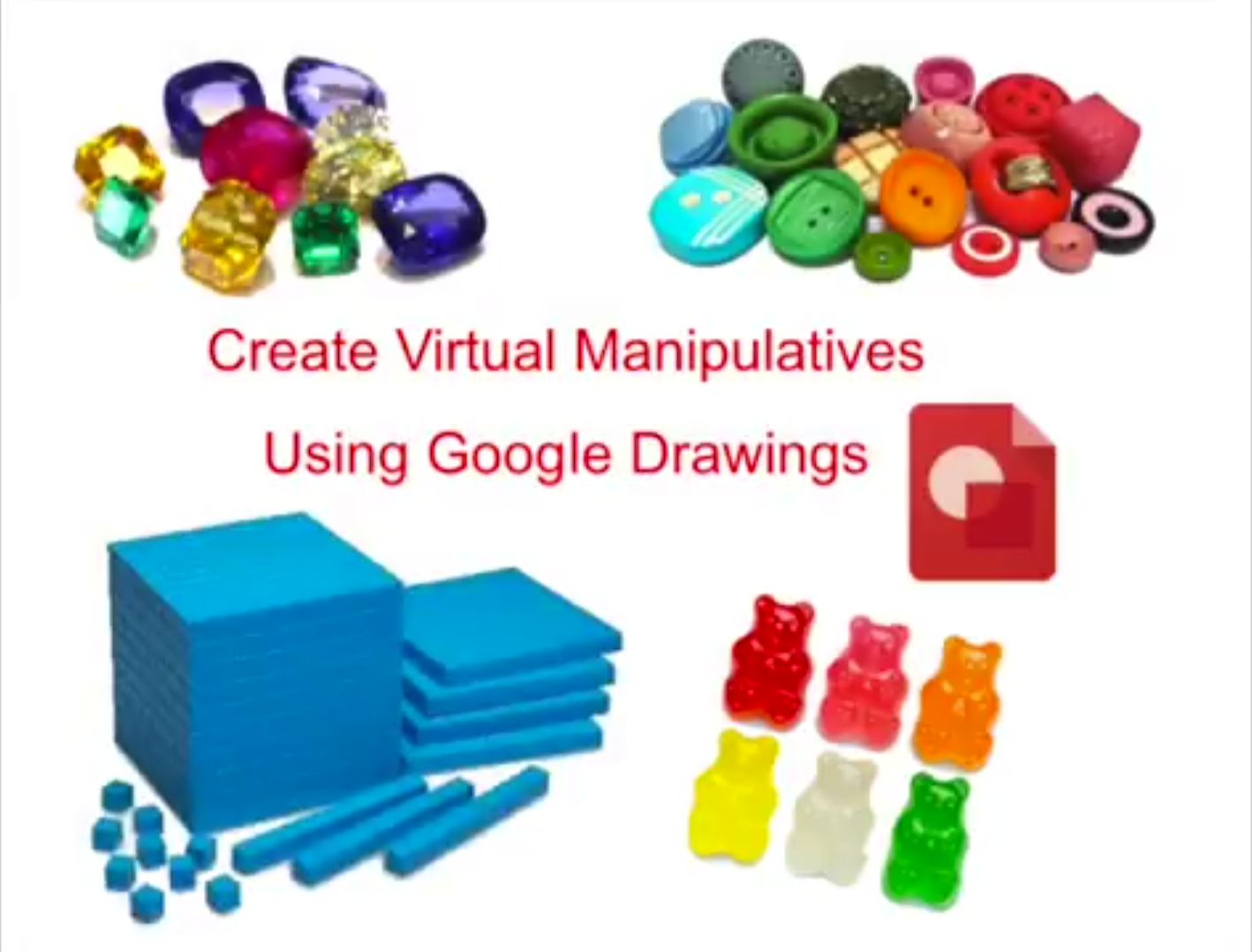 technology tip create virtual manipulatives with google drawings