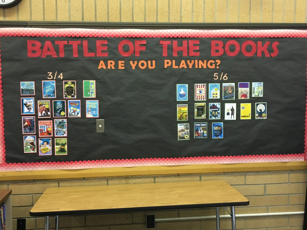 Granite Battle of the Books Competition Display