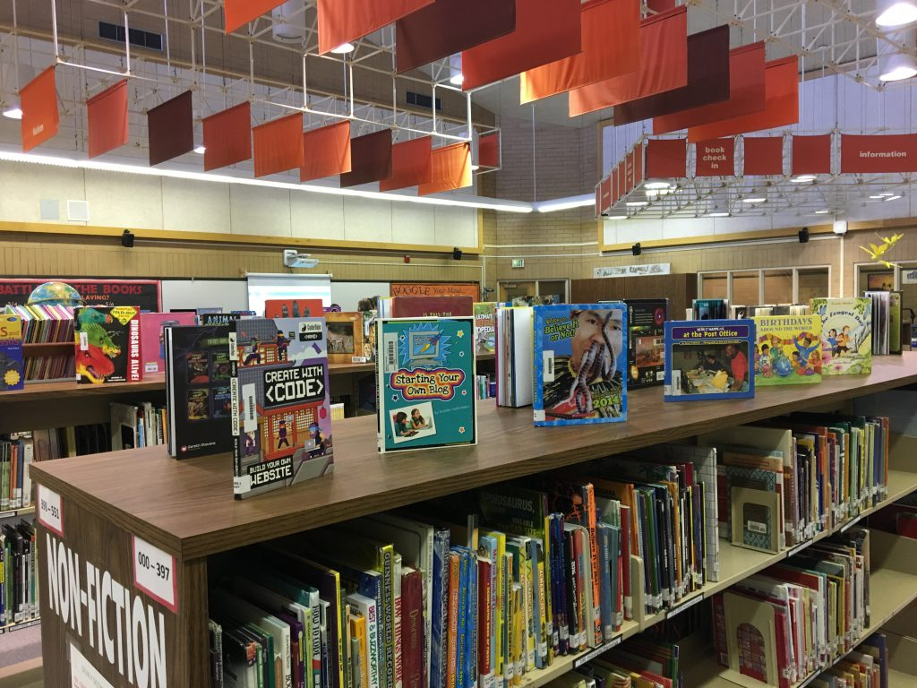 Library Spotlight: Beginning the Year Displays