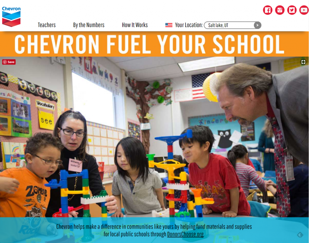 Chevron Fuel Your School Grants - Screenshot 2