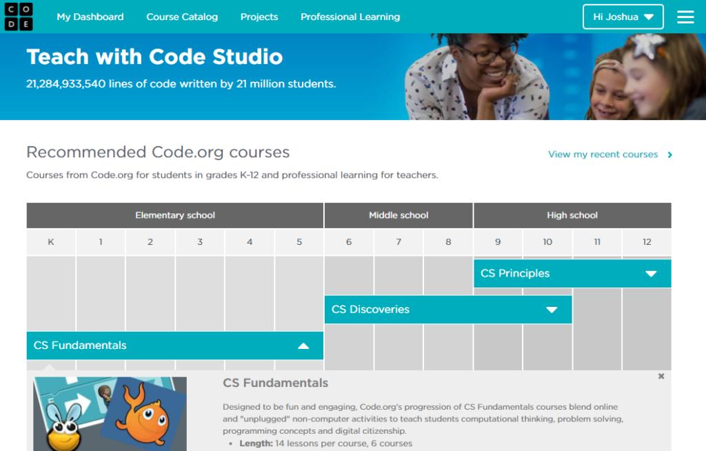 Code Studio - Screenshot