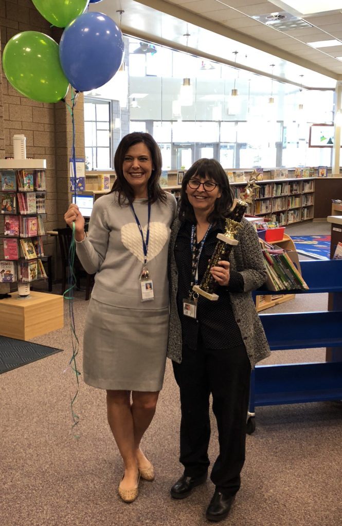 Woodstock Elementary - OverDrive Most Improved January 2018