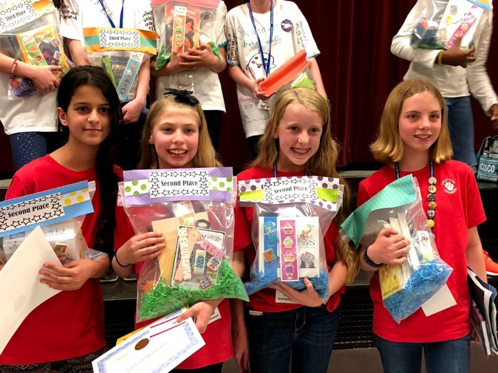 2nd Place Winners: Ladies in Reading, Crestview Elementary
