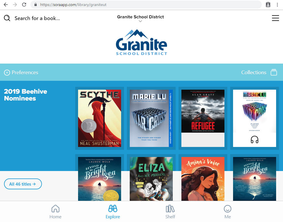Featured Resource: Sora, the New Reading App from OverDrive