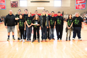 1st Place Project Trophy - Martian Mustangs (West Lake STEM Jr. High)
