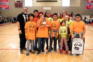 2nd Place Project Trophy - Space Jam (Moss Elementary)