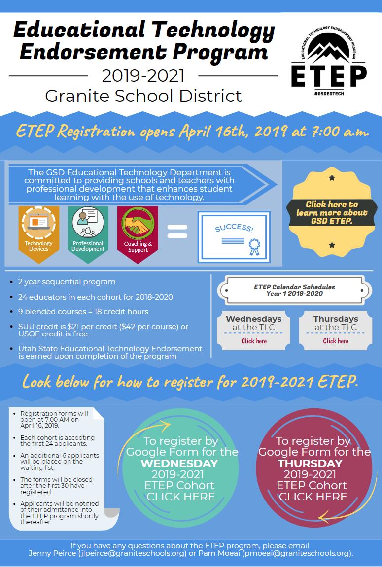 ETEP 2019-2021 Infographic